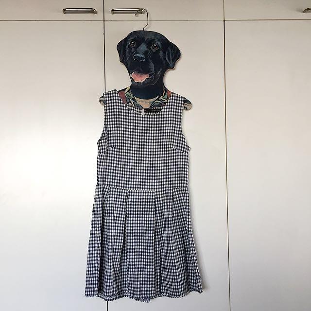 Folded & Hung Gingham Dress