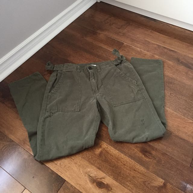 Forever 21 Military Green Pants