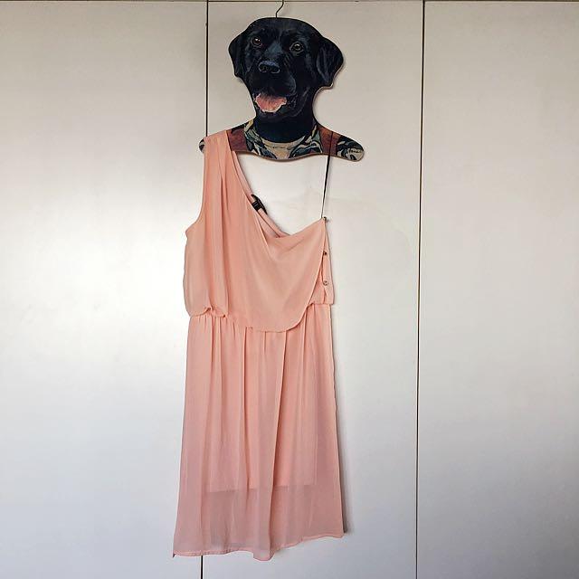 Forever 21 One-Shoulder Dress