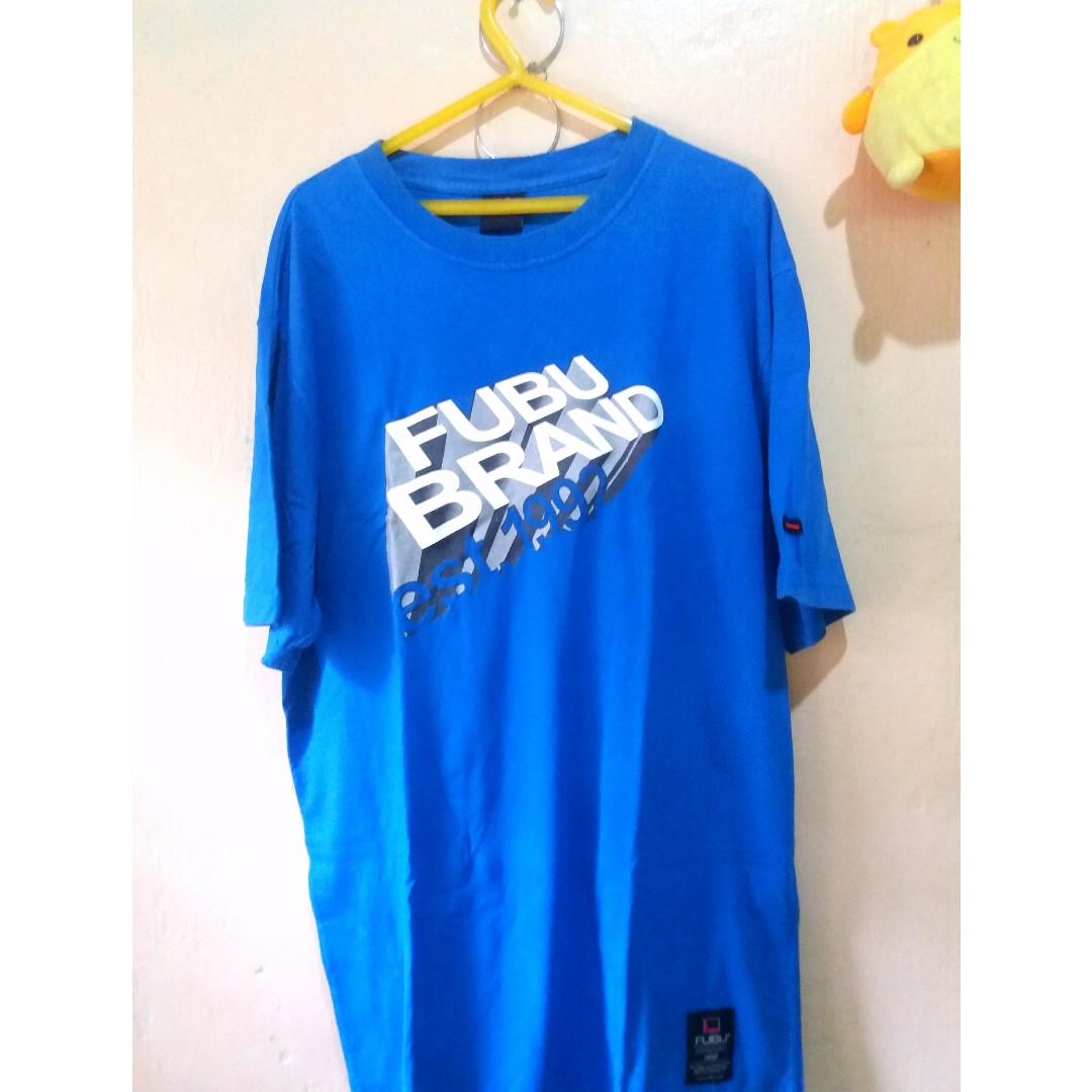 FUBU Blue Shirt