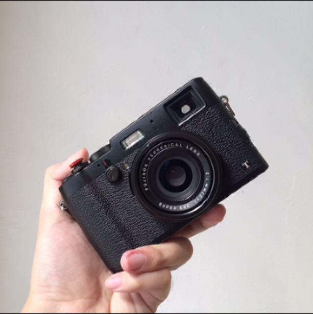Fujifilm X100T Black ex Garansi FFID Bonus