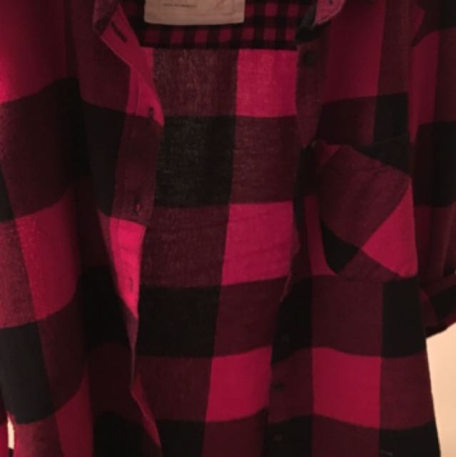 Garage boyfriend flannel shirt