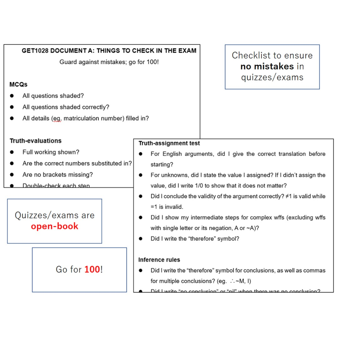 Get1028 Logic Cheatsheets And Unreleased Mock Paper With Worked
