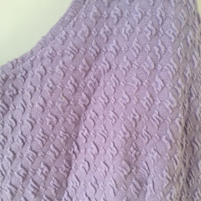 GLASSONS peplum top size 12 Lilac