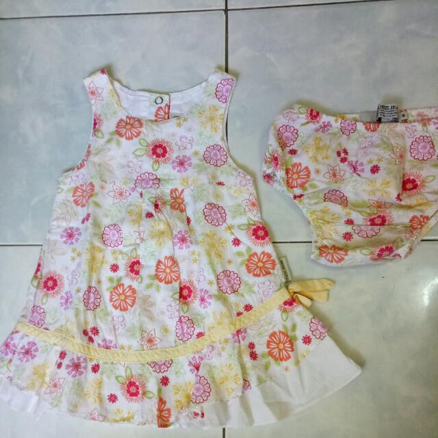 Guess Floral Dress With Underwear