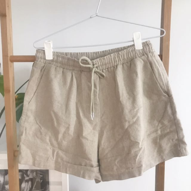 Hansen and Gretel 100% linen shorts