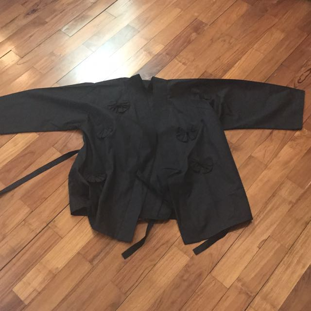 Herstry - Black Kimono - fit to L