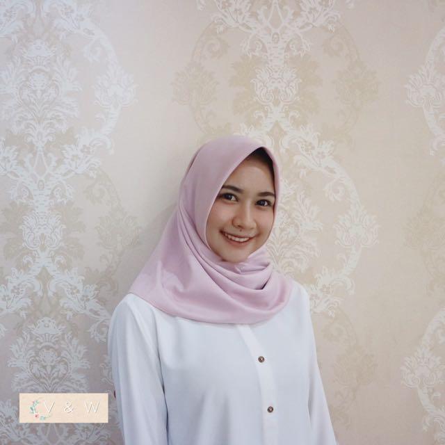 hijab square / kerudung segiempat