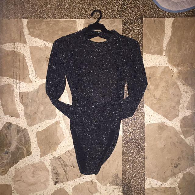 H&M Shiny Body Suit
