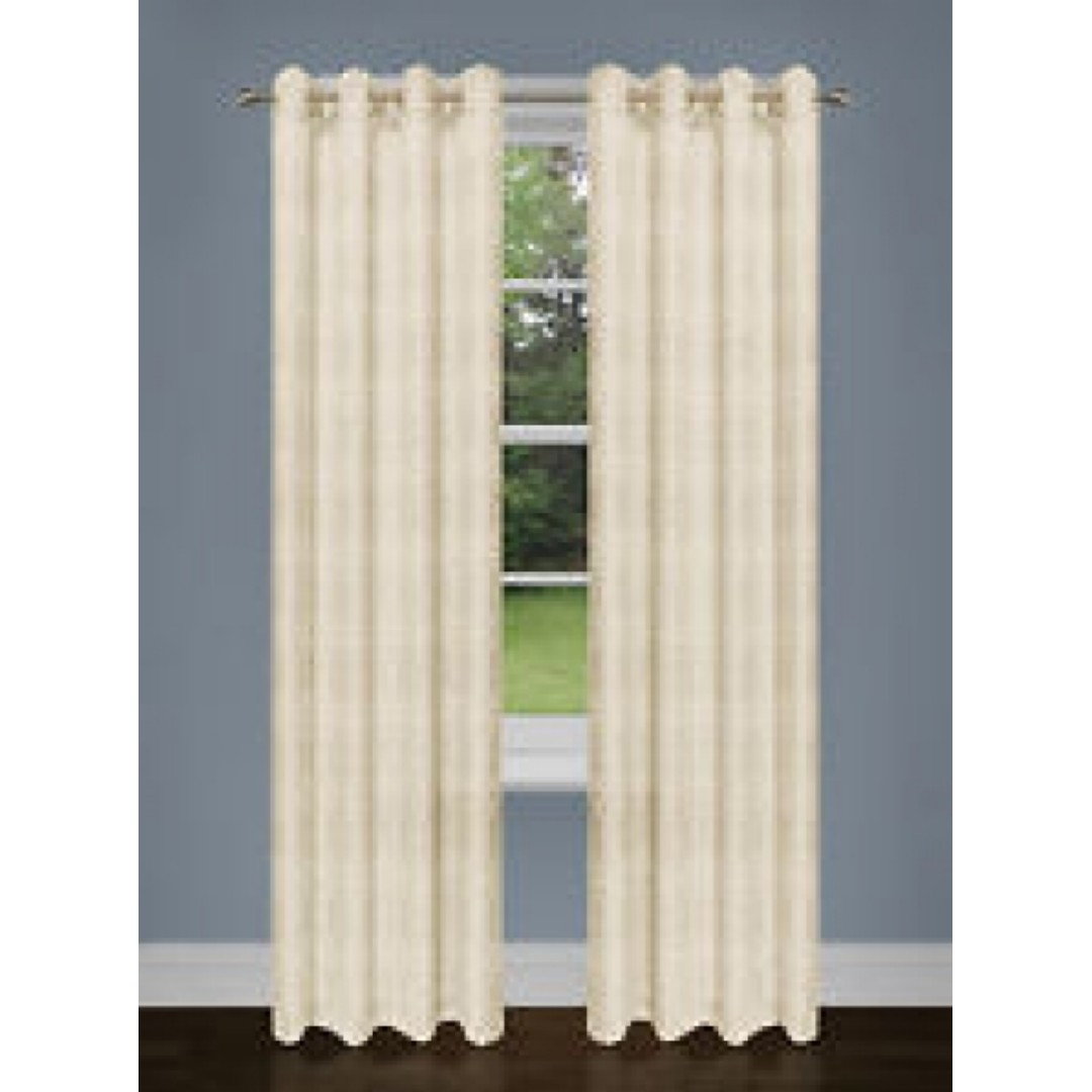 "Home Essentials 2-Pack Curtain Set (37"" x 84"" in)"