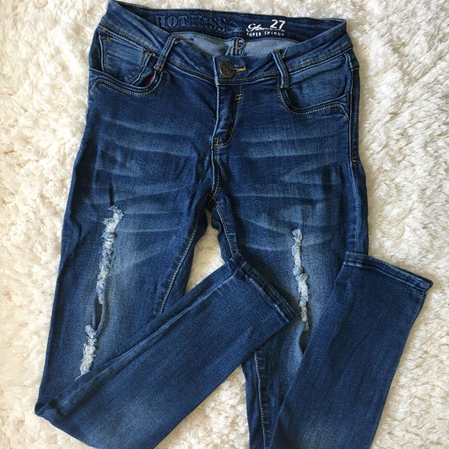 Hotkiss Ripped Skinny Jeans