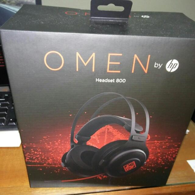 f27980ad296 HP Omen Headset 800 gaming headphone, Electronics, Audio on Carousell