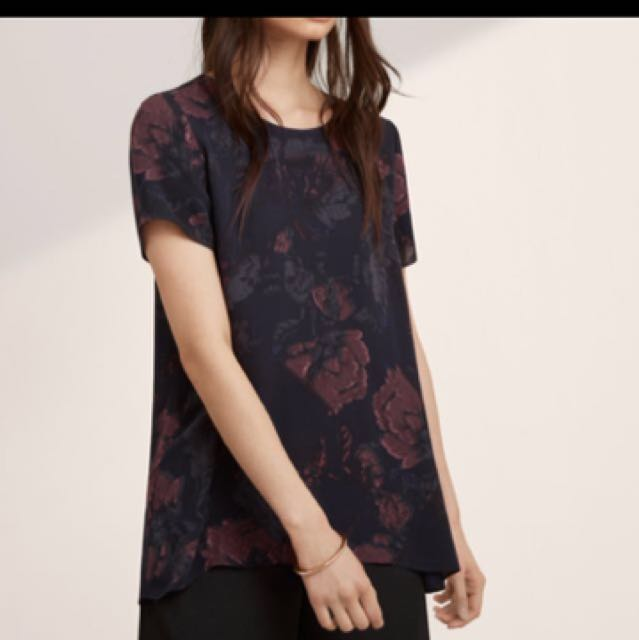 I want to buy: Aritzia Wilfred cypres blouse
