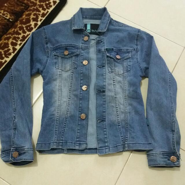 Jaket jeans slim fit