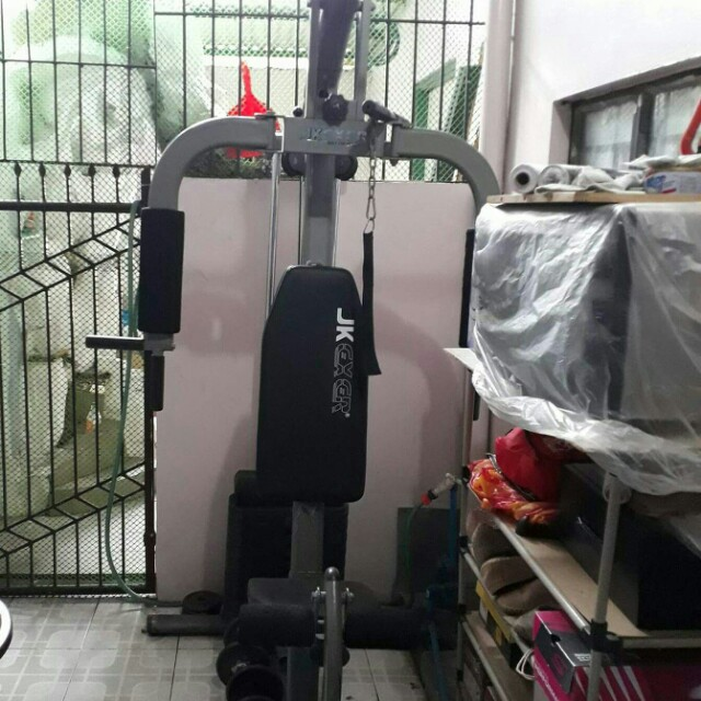 JK Exer Home Gym Deluxe