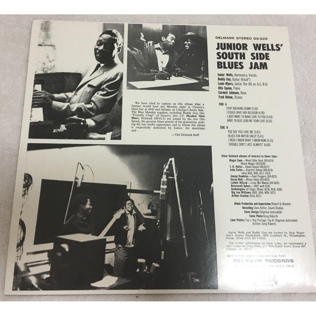 Junior Wells – Southside Blues Jam, Vinyl LP, Delmark