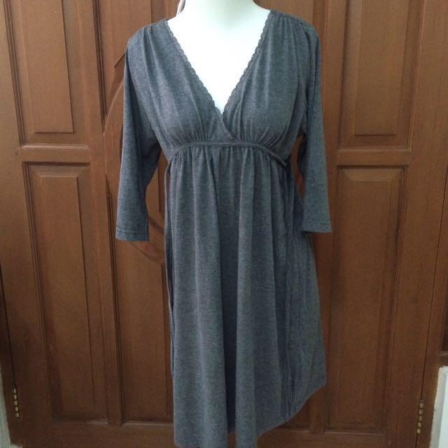 Kimono Dress (Grey)