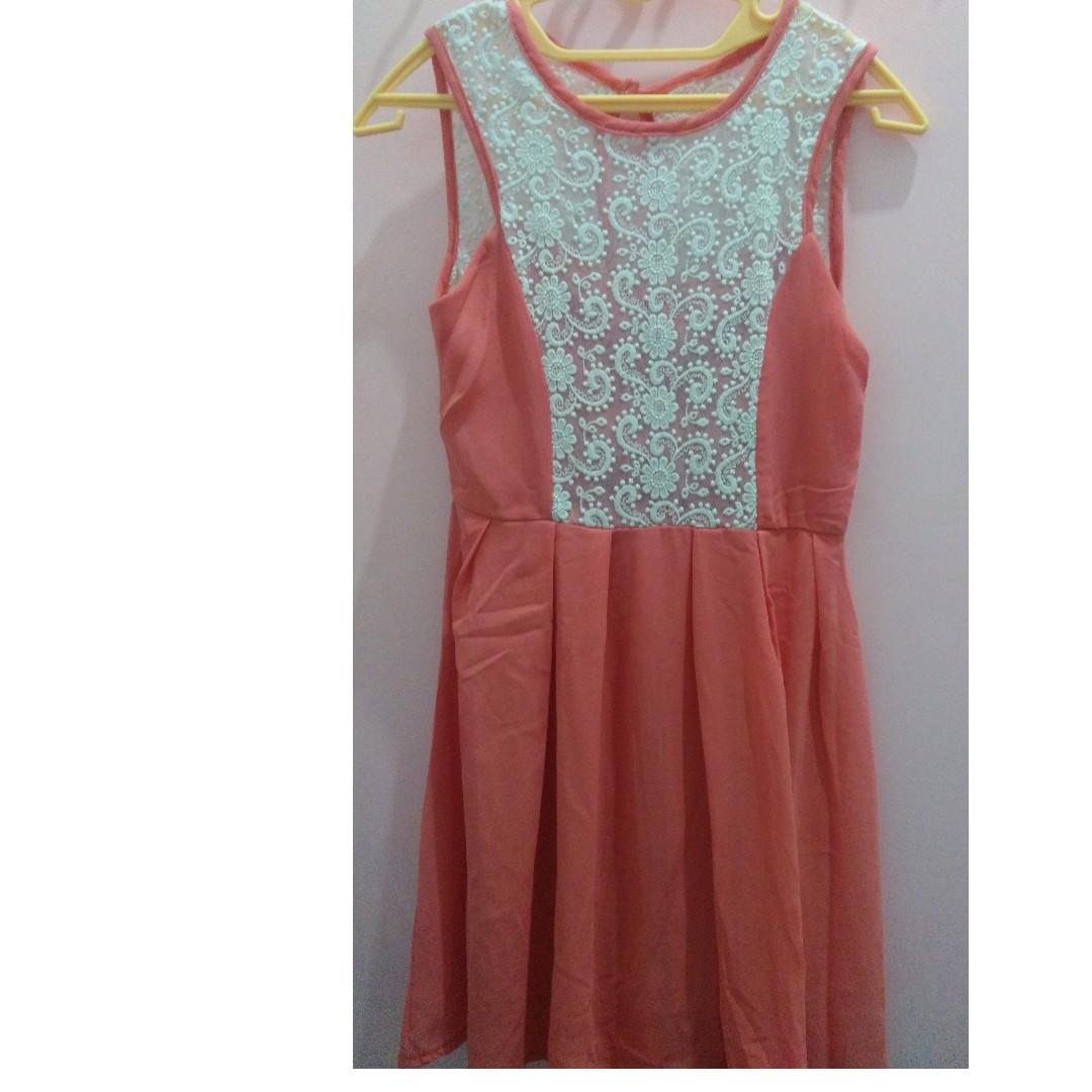 Lace Korean Dress