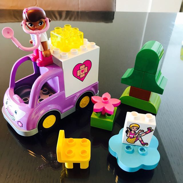 Lego Duplo Dock Of Toy Doctor Ambulance Babies Kids Toys