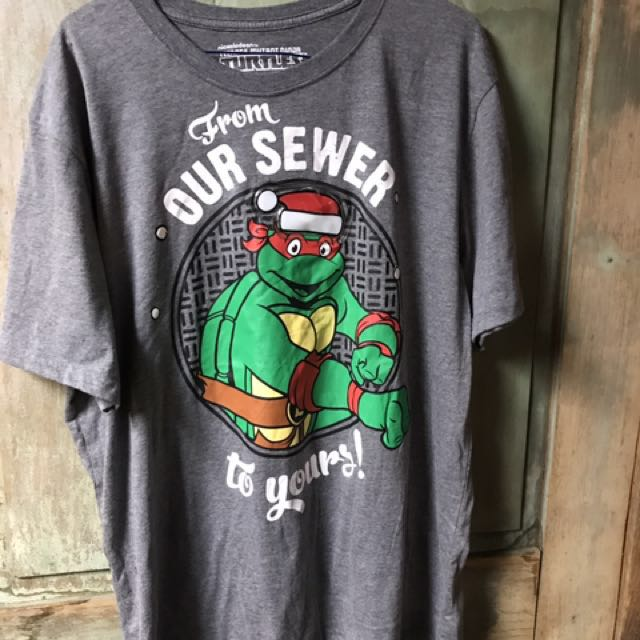 Light up Xl teenage mutant ninja turtles t-shirt