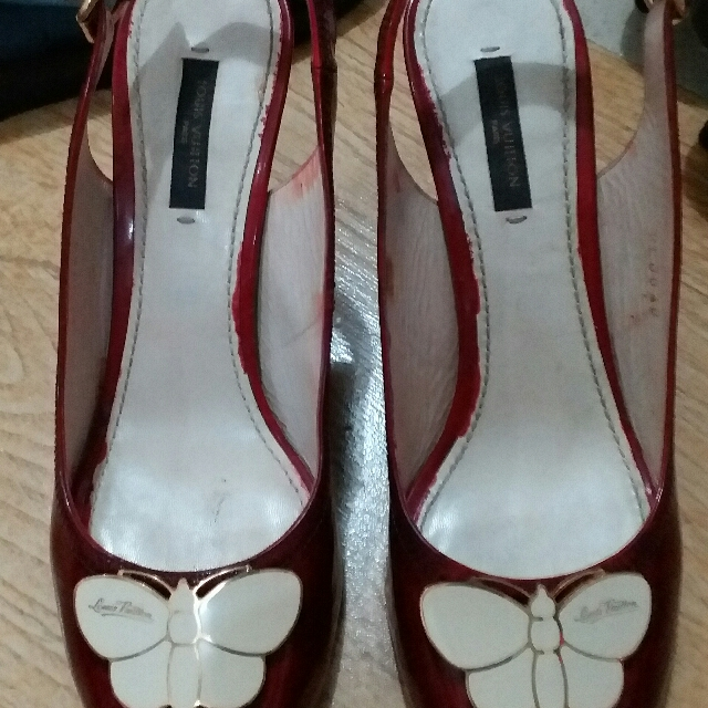 Louis Vuitton Butterfly Shoes Size38