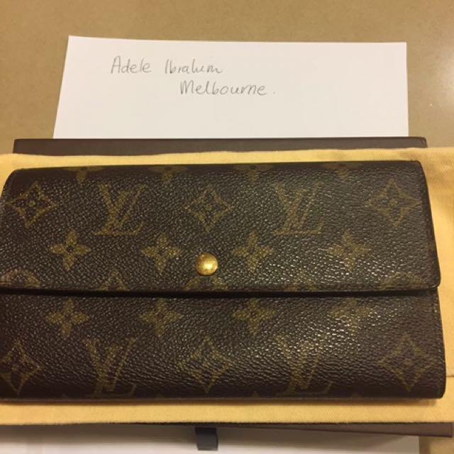 Louis Vuitton Vintage Sarah Wallet