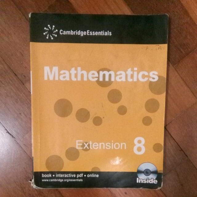 Math Cambridge Year 8 Textbook