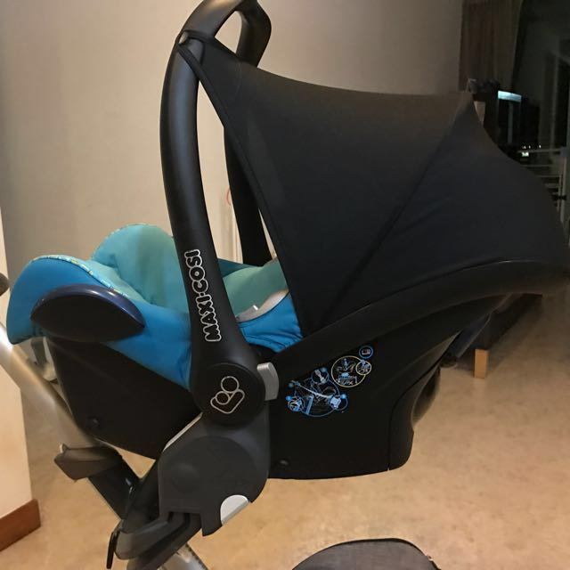 Super Maxi Cosi cabriofix baby car seat with Stokke adapter, Babies NP-39