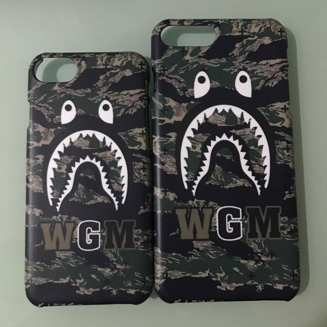 295a3ff29cb2 New arrival!! Inspired Bathing Ape BAPE Shark Head TIGER CAMO PRINT ...