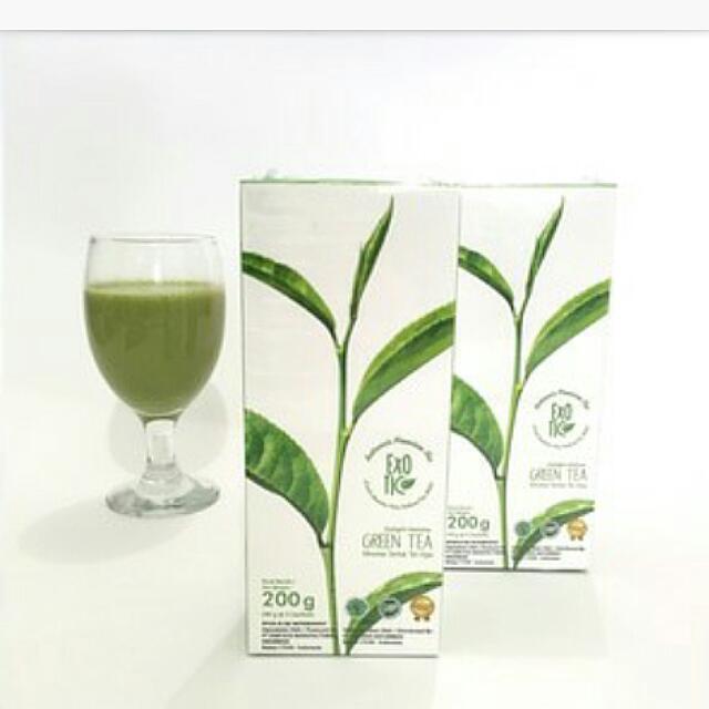 New Exotic Delight Matcha Green Tea