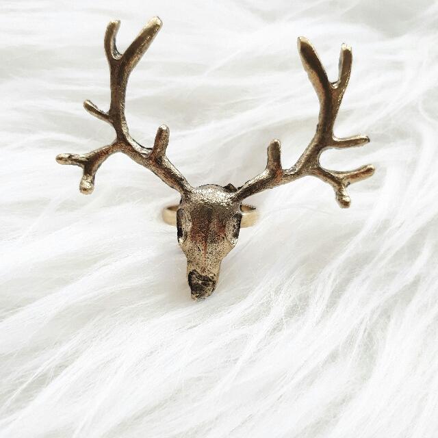 [NEW] Reindeer Vintage Ring