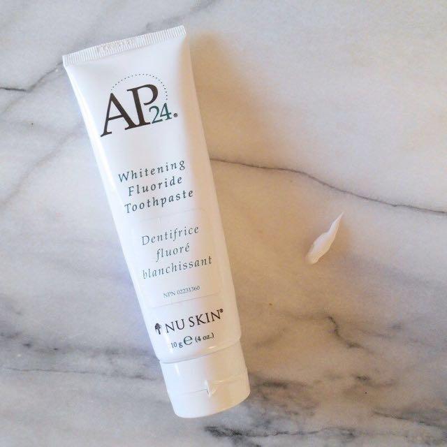 Nu skin AP24-whitening fluoride toothpaste