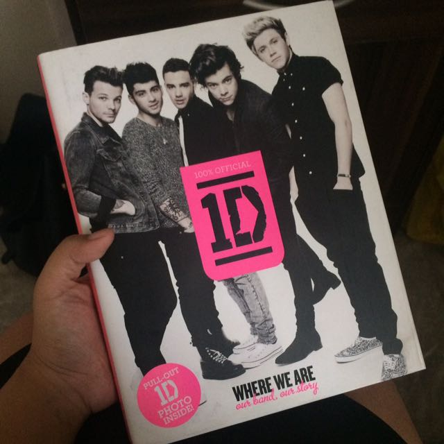 One Direction Official Merch: Where we are