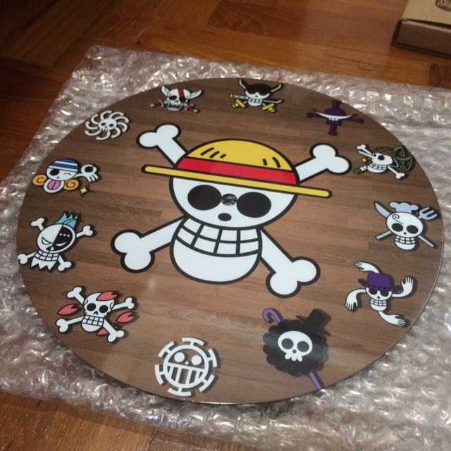 One Piece Diy Wall Clock Furniture Home Decor On Carousell