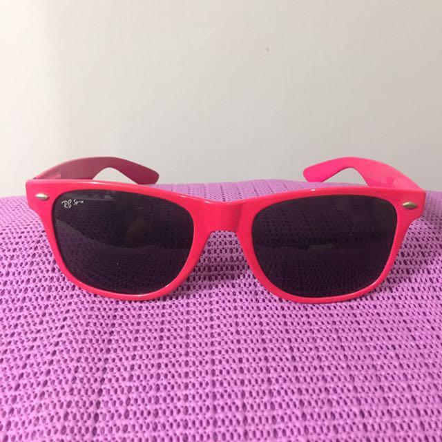 Pink sunglasses rayban / kacamata
