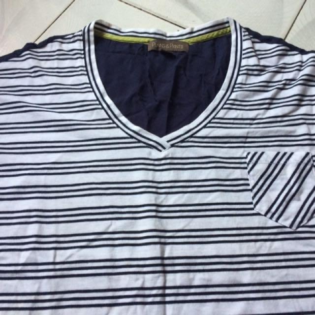 PLAINS & PRINTS Stripe Shirt