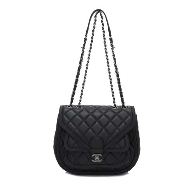 Preloved Chanel Quilted Leather Shoulder Bag