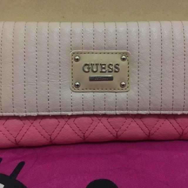 Preloved Guess Wallet Original