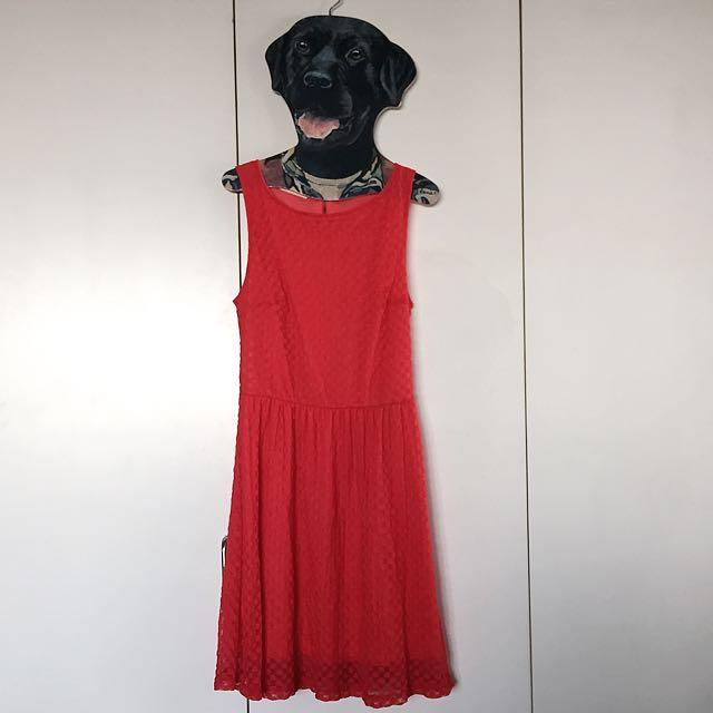 Promod Dotted Dress