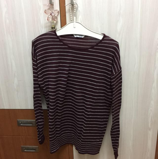 Pull&Bear Stripe Sweater