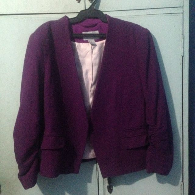 Purple Blazer (H&M)