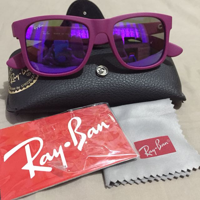 Ray Ban RB4165 Justine Purple