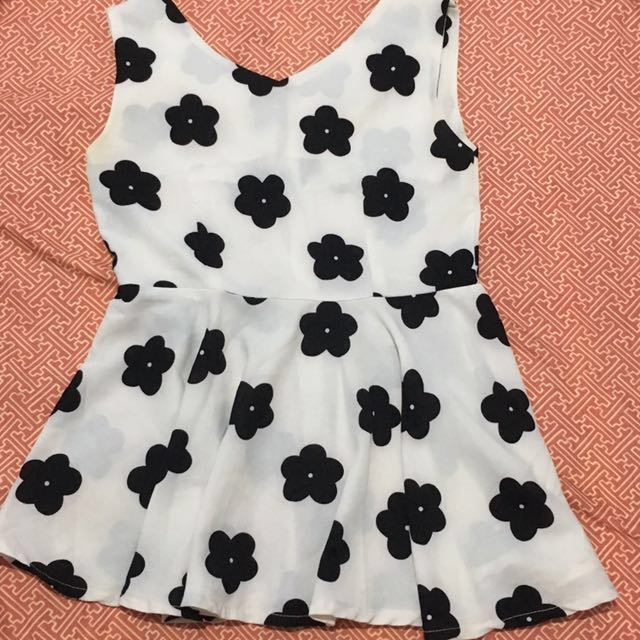 Repriced!Floral Blouse