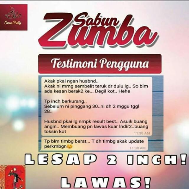 Sabun Zumba Health Beauty Bath Body On Carousell