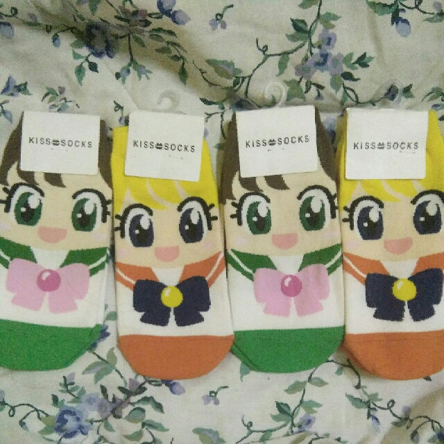 Sailormoon socks limited stocks available left