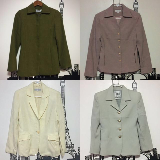 SALE! 4 blazers for only 1000