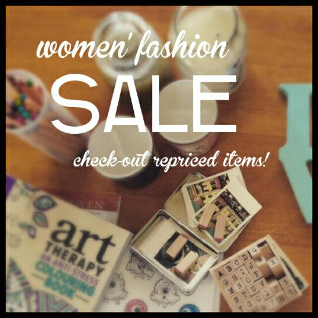 Sale On Women's Fashion Items