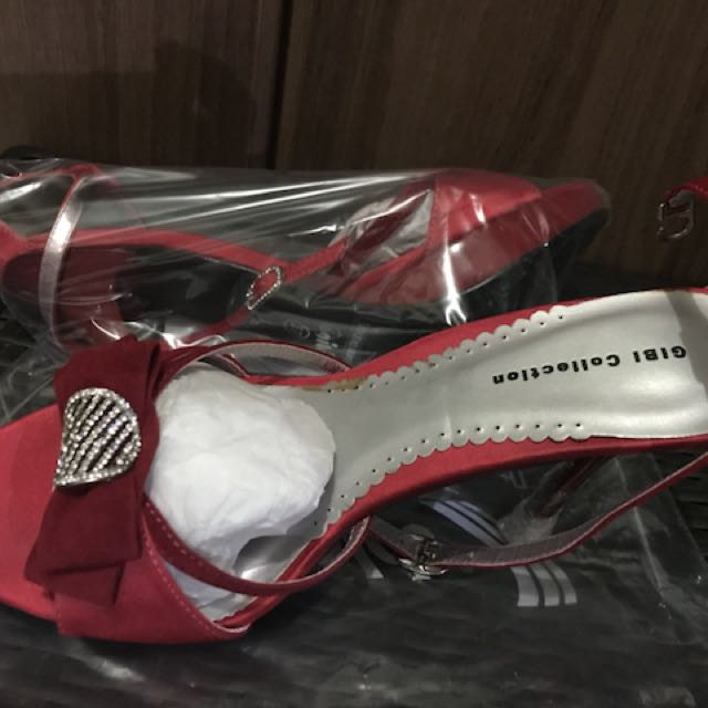 Sandals Red Gibi Size 37