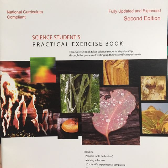 Science Student's Practical Exercise Books