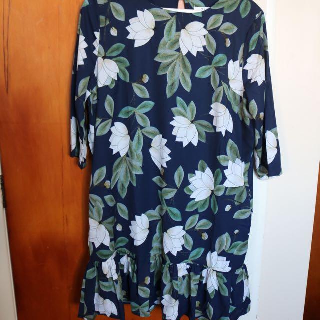 Size 12 Floral Dress